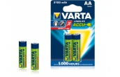 Аккумулятор Varta Recharcheable ACCU AA 2100mAh Блистер 2 шт. Ni-Mh (READY 2 USE)