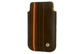 Чехол для iPhone кожаный Crumpler The Le Royale (dk.brown / dk.orange)