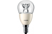 Лампа светодиодная Philips LED luster D E14 6-40W 827 P48 CL Master