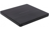 Внешний привод Hitachi-LG GP60NB60 DVD+-R/RW USB2.0 EXT Ret Ultra Slim Black