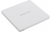 Внешний привод Hitachi-LG GP60NW60 DVD+-R/RW USB2.0 EXT Ret Ultra Slim White